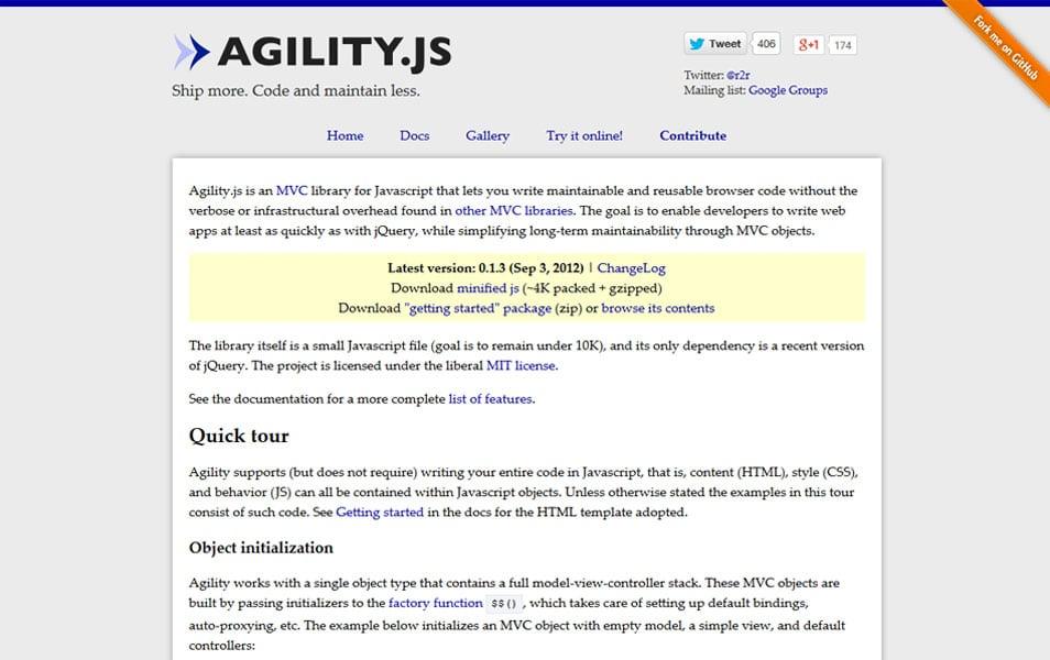 Agility.js