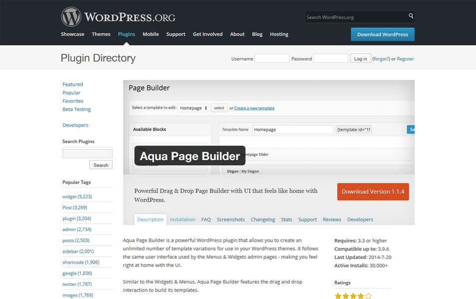 30 best drag and drop wordpress page builders css author