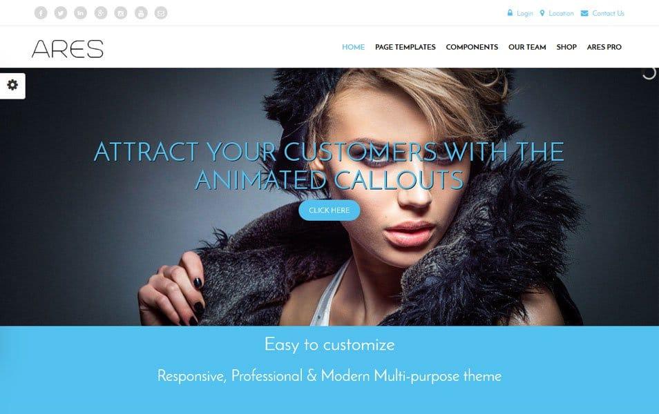 Ares Responsive WordPress Theme