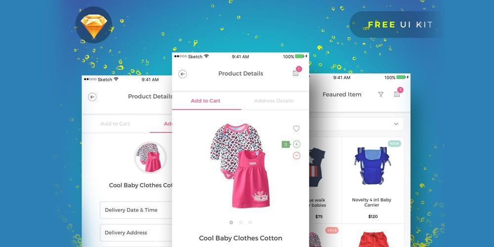 Baby Pink UI Kit