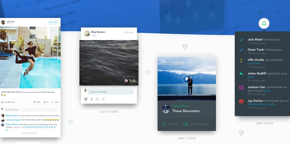 Based UI Kit for Sketch