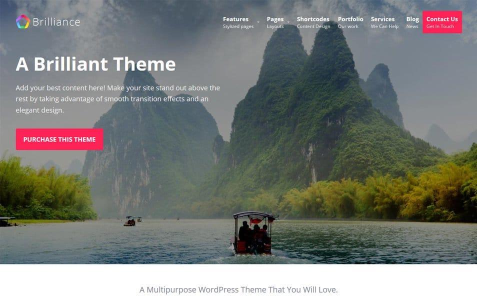Brilliance Responsive WordPress Theme