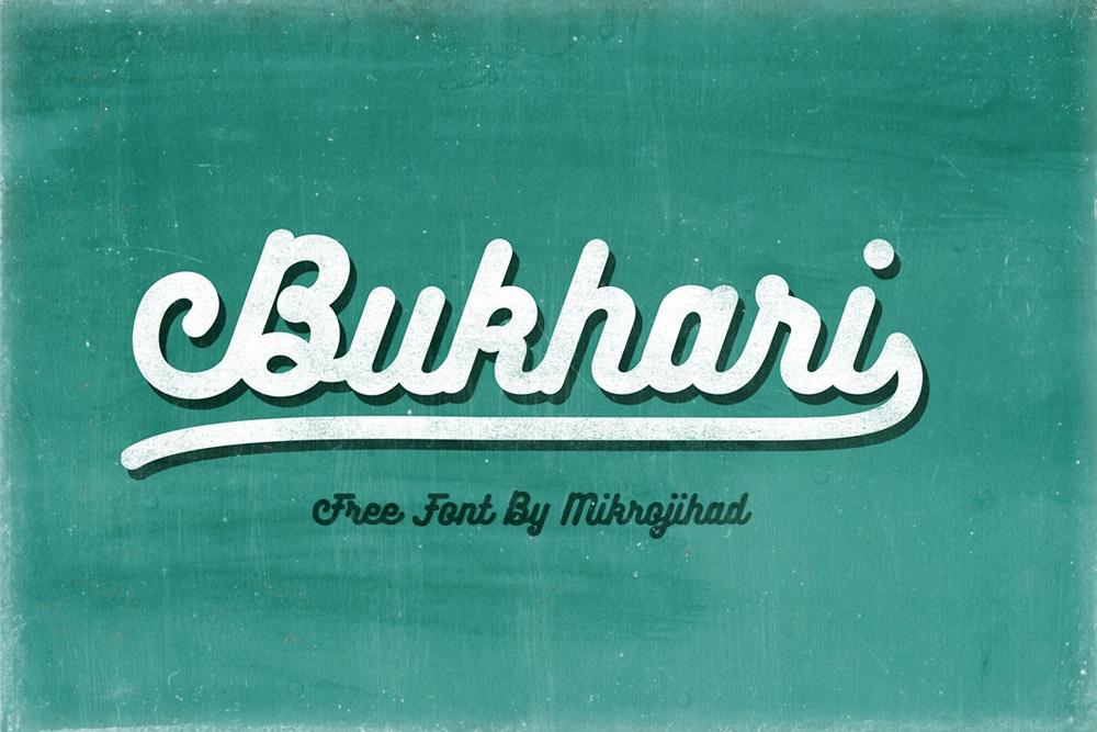 Bukhari Free Font