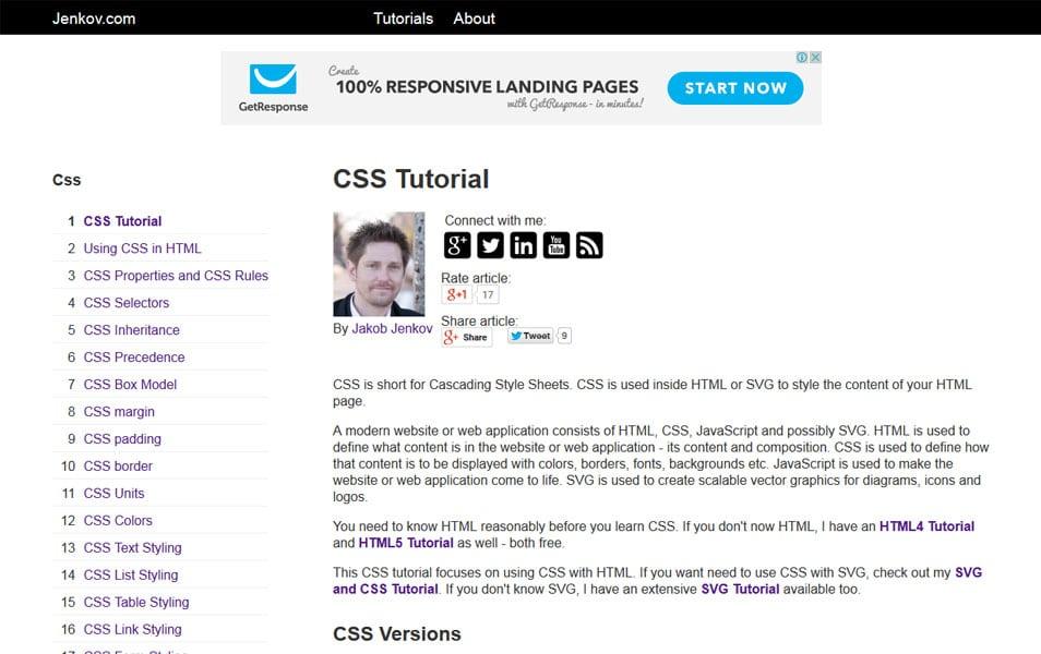CSS Tutorial | tutorials.jenkov