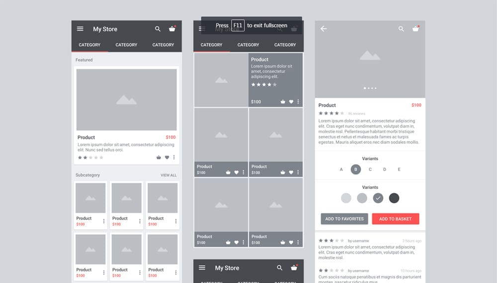 Carbon - Free Material Wireframe Kit