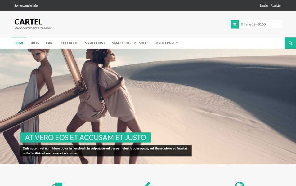 Cartel Responsive WordPress Theme