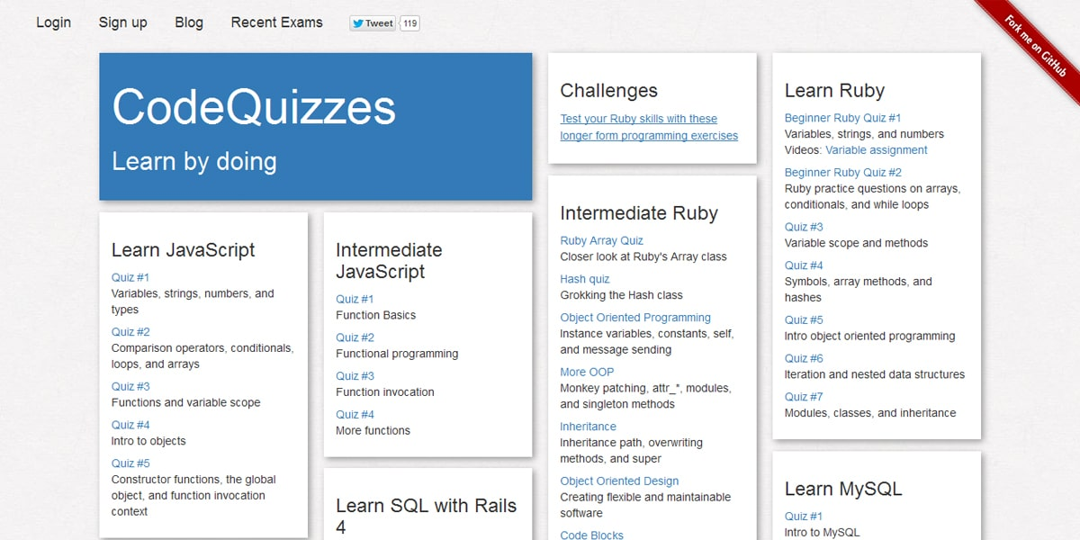 Codequizzes