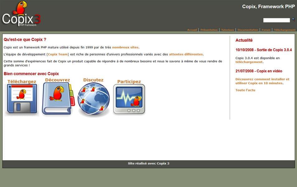 Copix PHP Framework