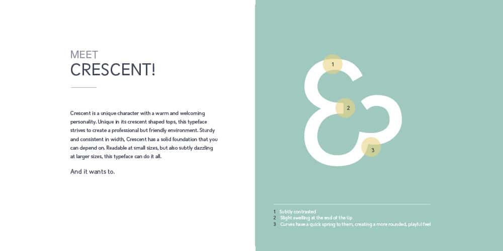 Crescent Font