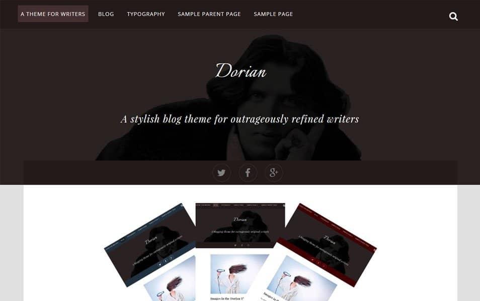 Dorian Responsive WordPress Theme