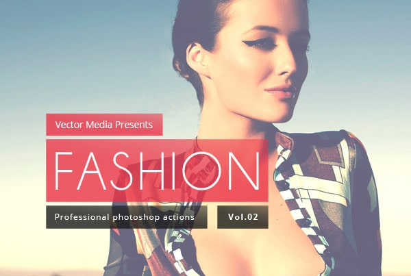 Fashion - Free Photoshop Actions