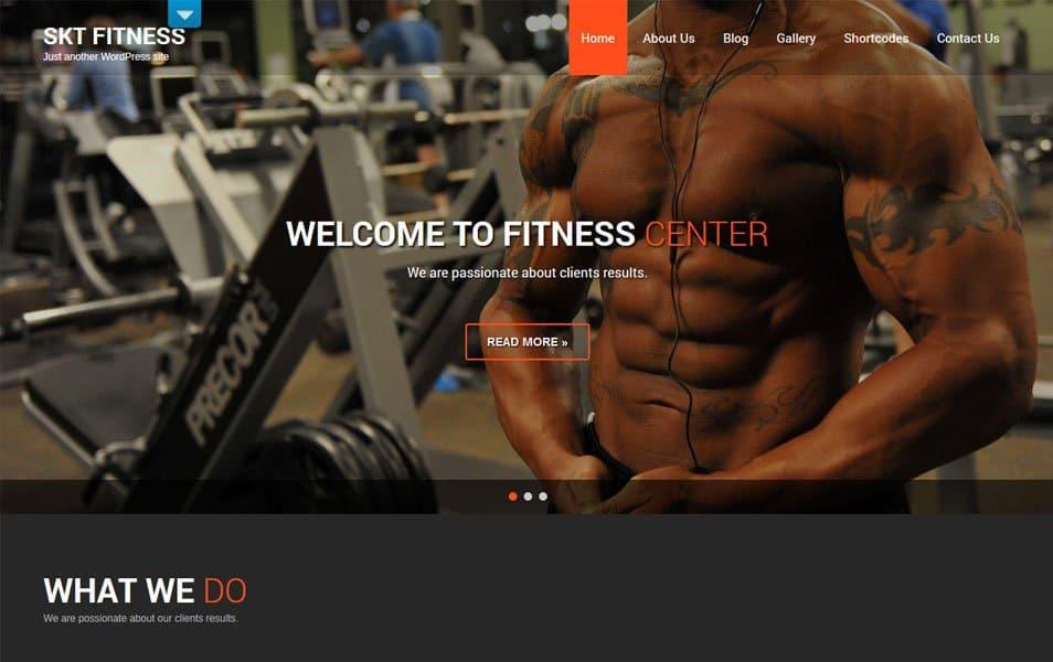 Fitness Lite Responsive WordPress Theme