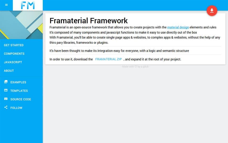 Framaterial Framework