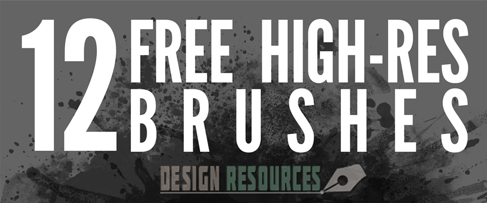 Free High-Res Photoshop Brushes