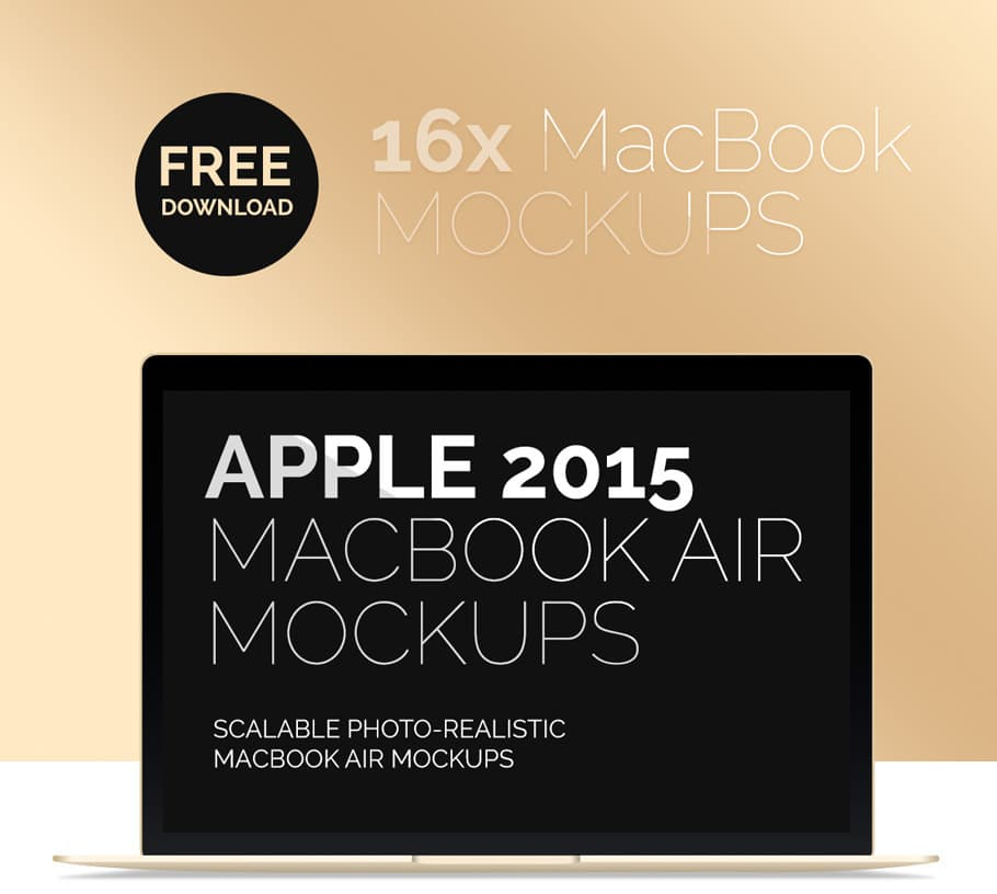 Free-Macbook-Air-Mockup