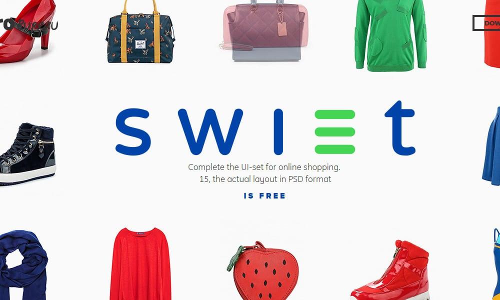 free-swiet-ecommerce-ui-kit-psd