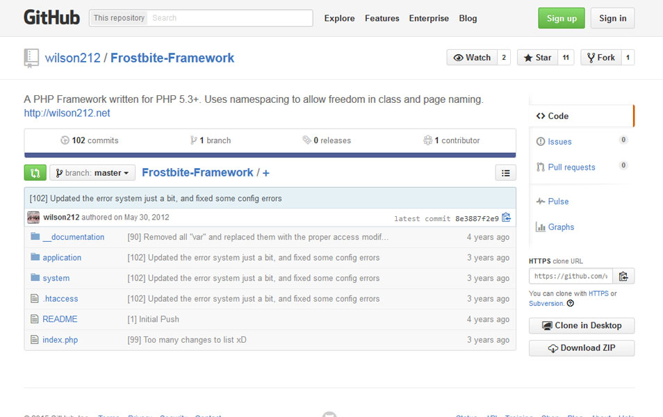 Frostbite Framework