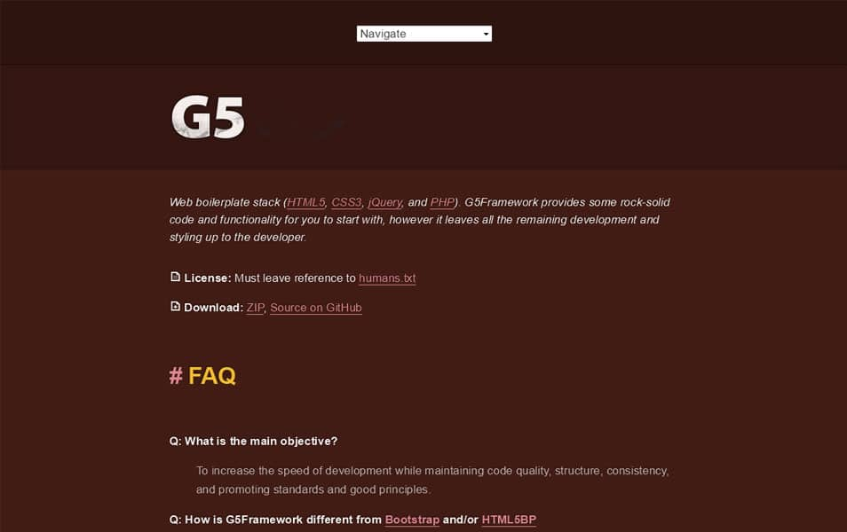 G5Framework