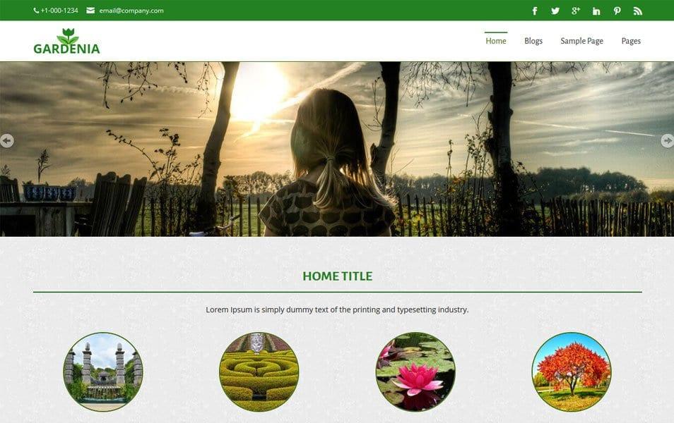 Gardenia Responsive WordPress Theme