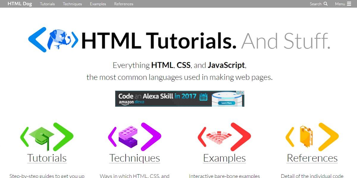 HTML5 Dog