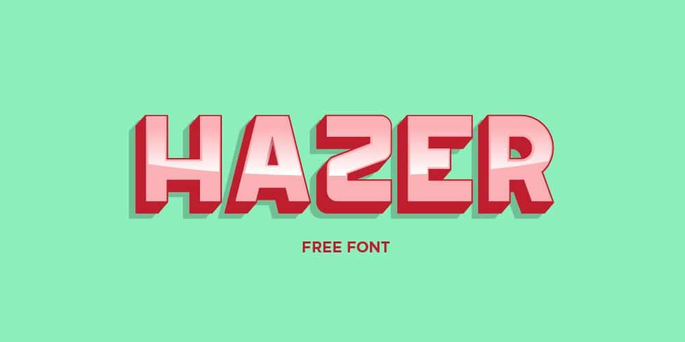 Hazer Typeface