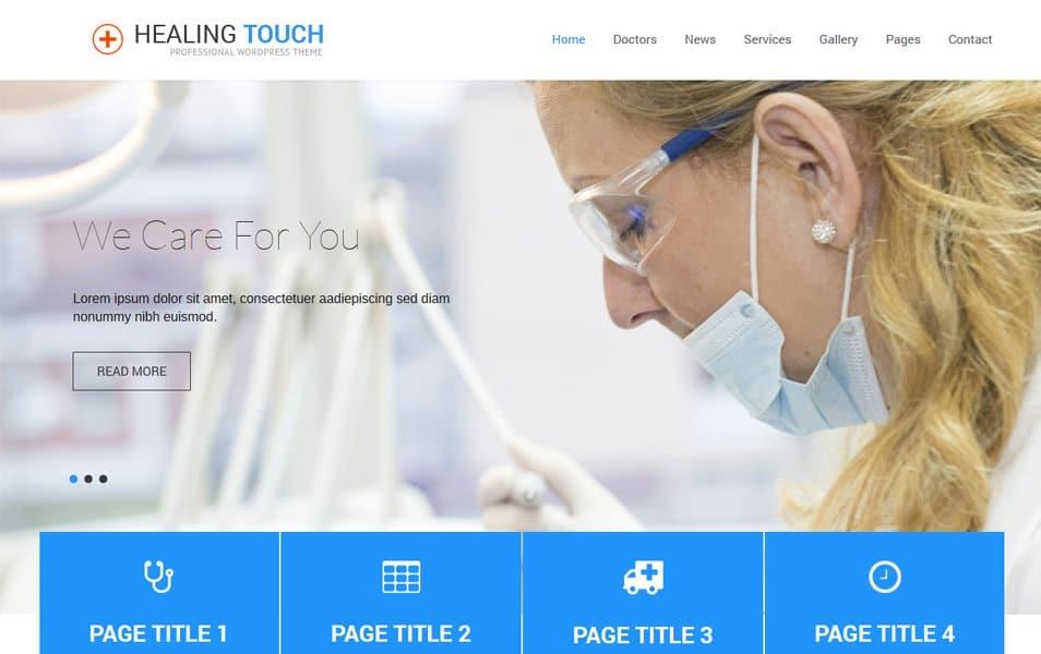 Healing Touch Responsive WordPress Theme