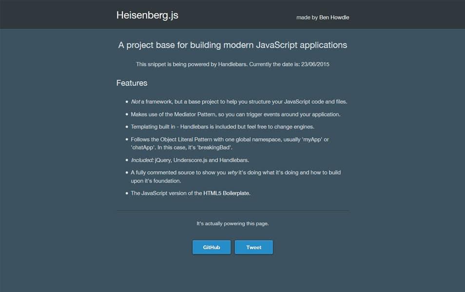 Heisenberg.js