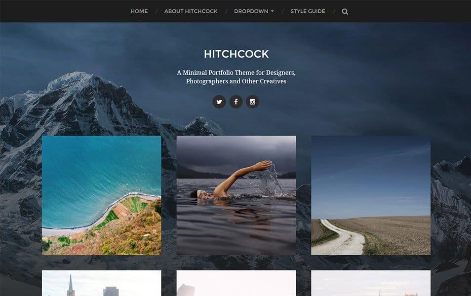 Hitchcock Responsive WordPress Theme