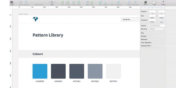 How to build a pattern library in Sketch