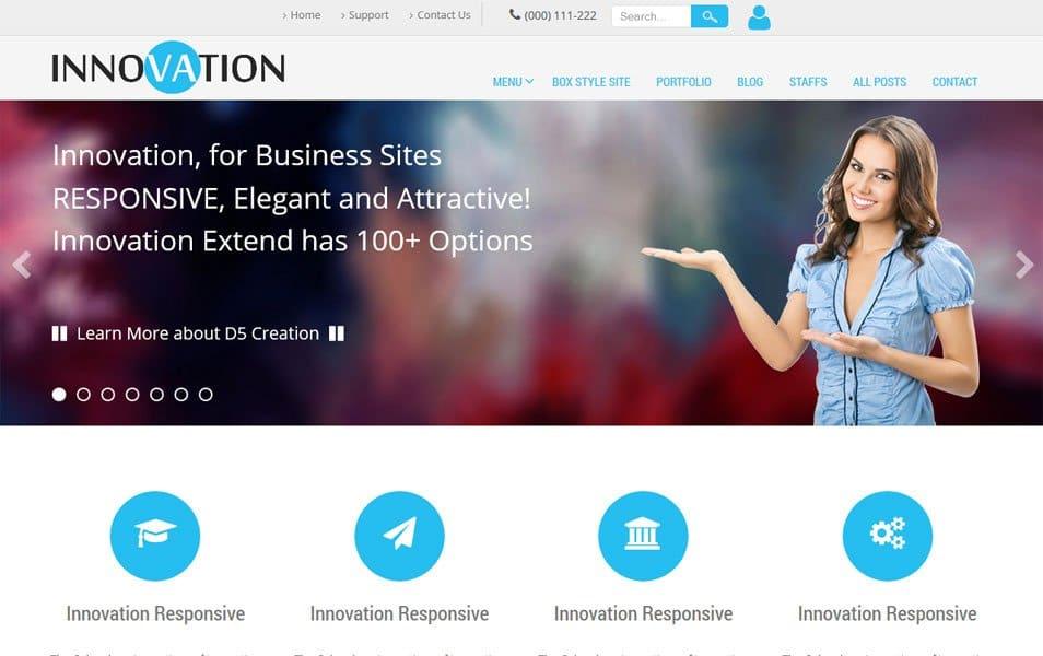 Innovation Lite Responsive WordPress Theme