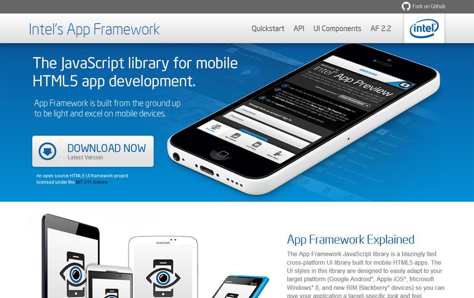 Intel's App Framework