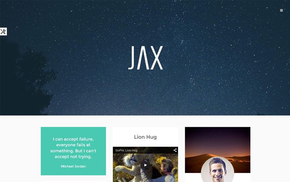 Jax Lite Responsive WordPress Theme