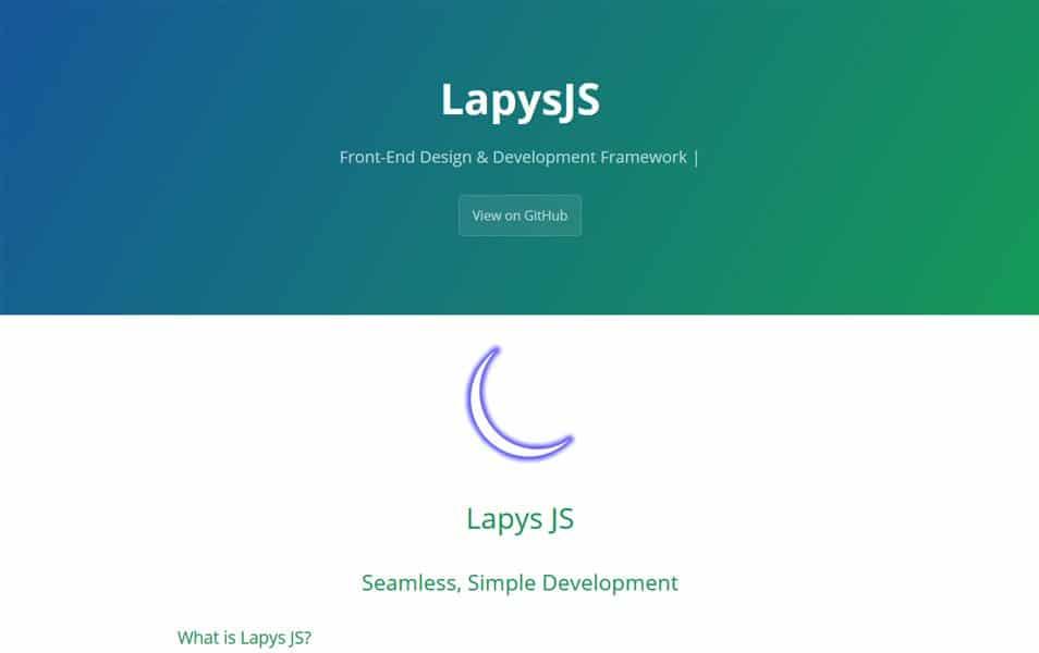 Lapys JS