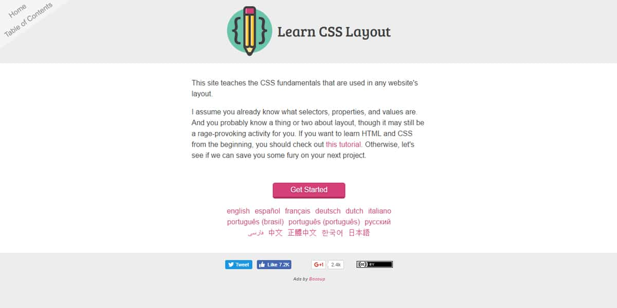 Learn CSS Layout