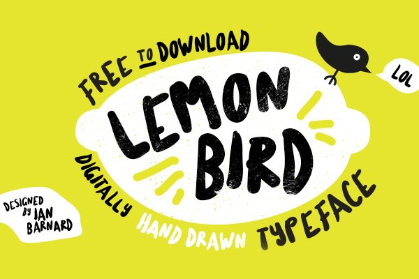 Lemon Bird Font