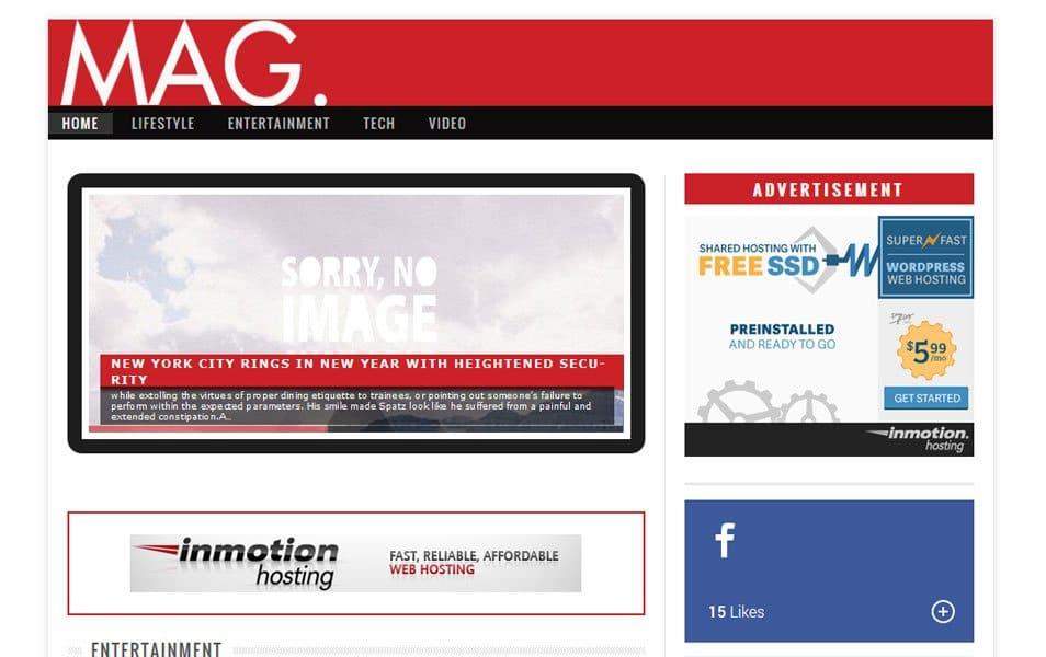 Mag Responsive WordPress Theme
