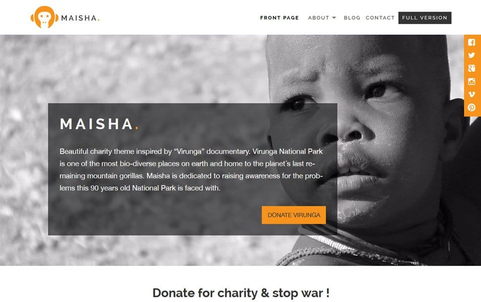 Maisha Lite Responsive WordPress Theme