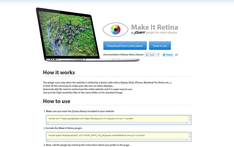 Make It Retina