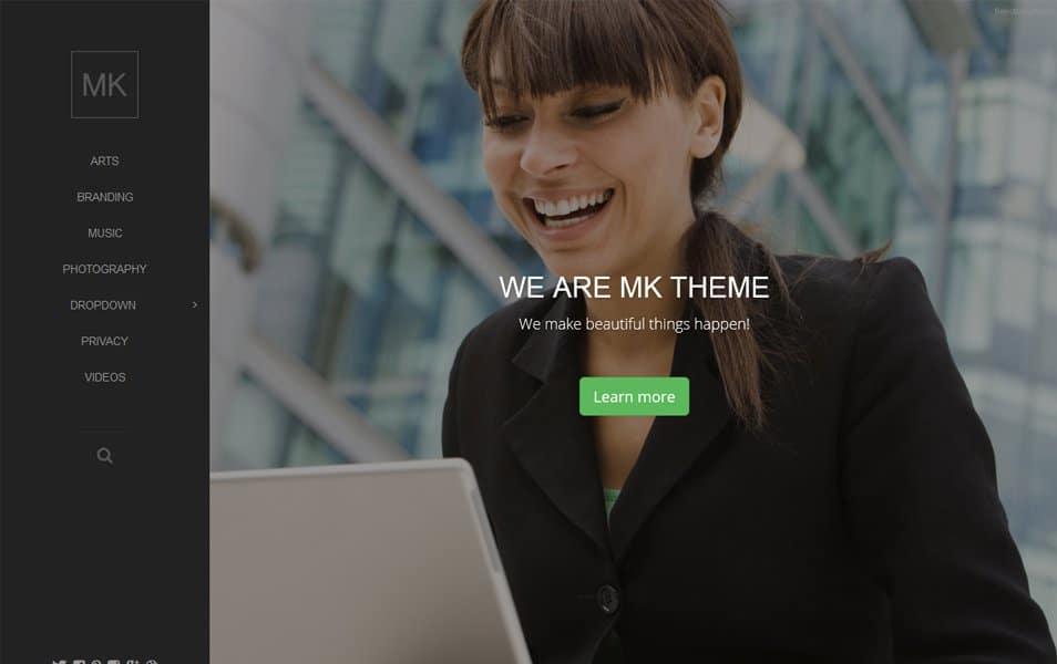 Mk Responsive WordPress Theme