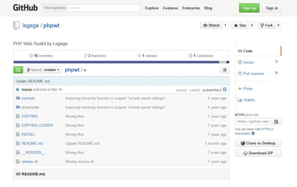 PHP Web Toolkit