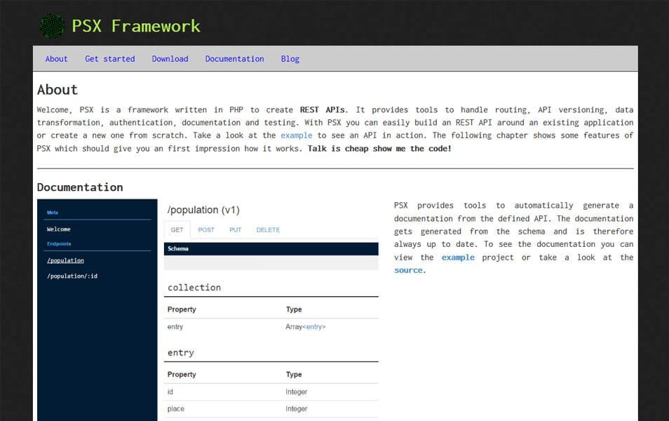 PSX Framework