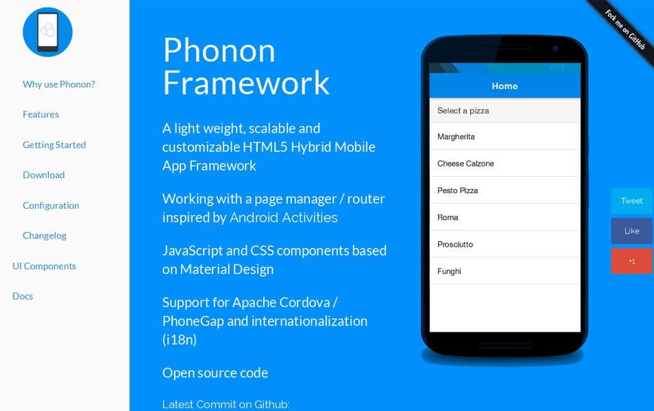 Phonon Framework