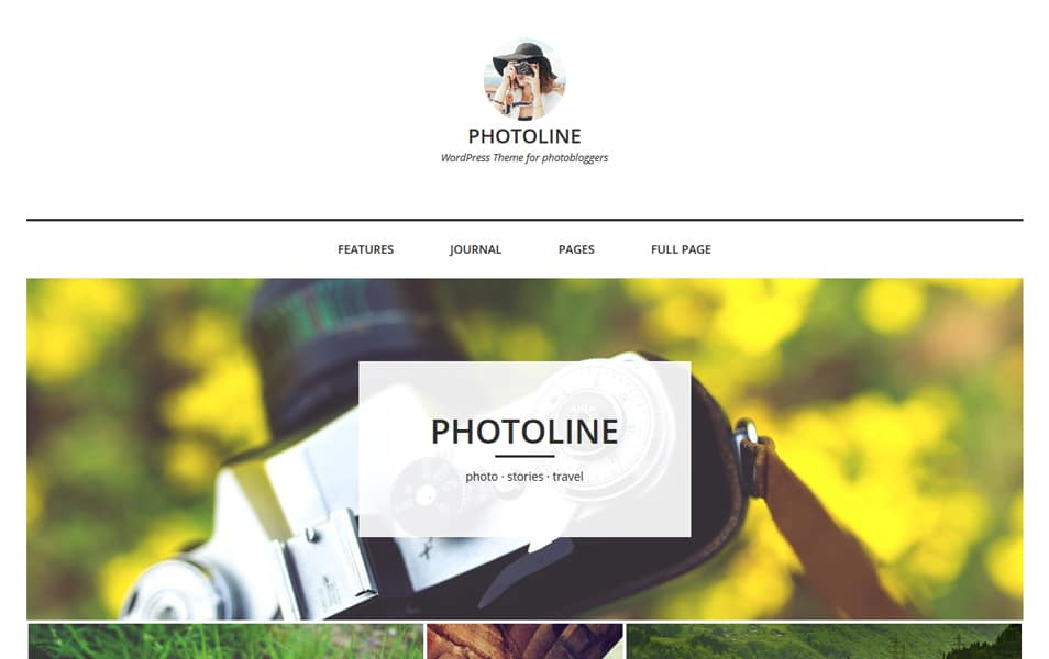 Photoline Lite Responsive WordPress Theme