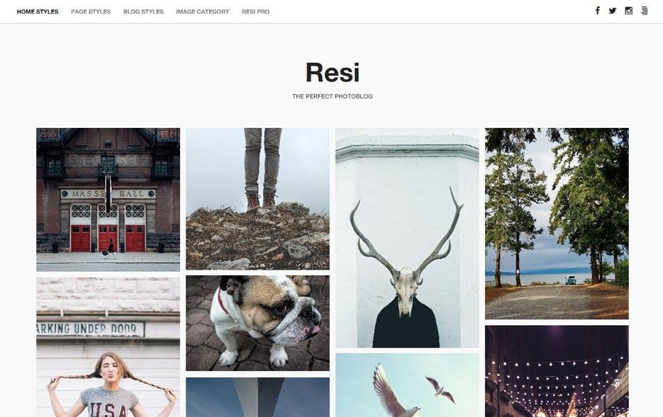 Resi Responsive WordPress Theme