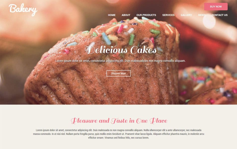 SKT Bakery Responsive WordPress Theme