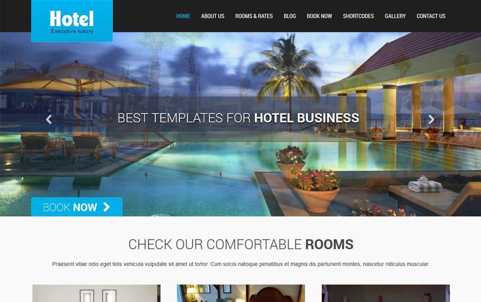 SKT Hotel Lite Responsive WordPress Theme
