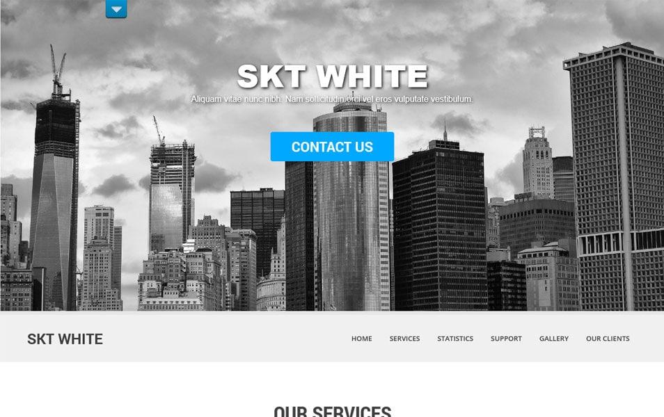 SKT White Responsive WordPress Theme