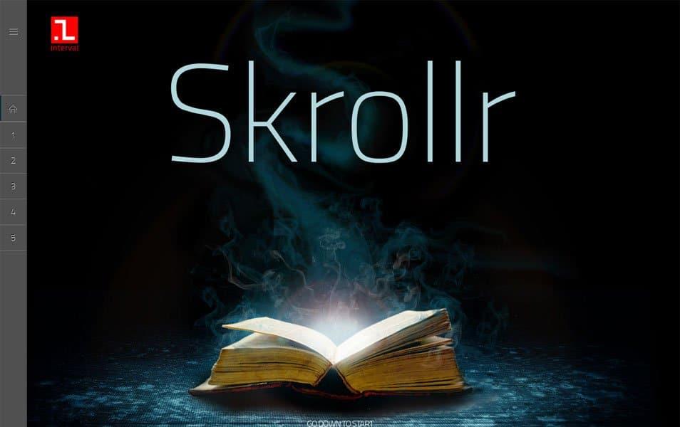 Skrollr Responsive WordPress Theme