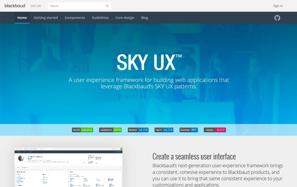 100 best css frameworks for responsive design sky ux provides an html css and javascript framework to implement blackbauds design patterns along with the guidance to handle visual design and malvernweather Image collections