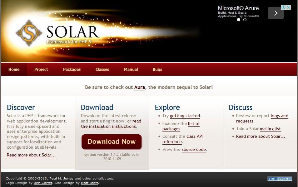 Solar Framework
